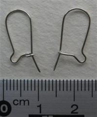 Ear wire, pair